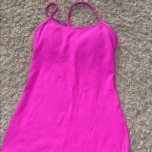 pink lululemon tank top